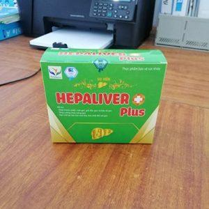 TPCN Bổ Gan Hepa Liver + Plus Hộp 10 Vỉ * 5 Viên