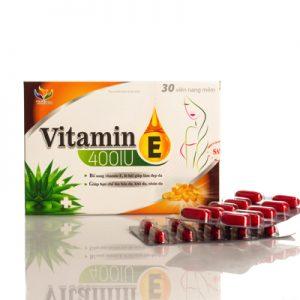 TPBS Vitamin E Hộp 3 Vỉ X 10 Viên