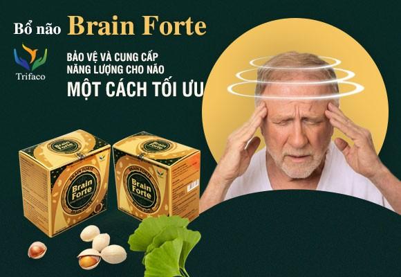 Giá Niêm Yết Thực Phẩm Bổ Não Brain Forte Trifaco